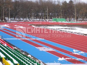 """Объект: """"Стадион (IAAF)"""" г. Майкоп, Синтетика-2 © 2009"""
