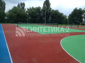 "Объект: ""Теннисный корт"" г. Нововоронеж, Синтетика-2 © 2014"