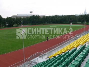 """Объект: """"Лужники (IAAF)"""" г. Москва, Синтетика-2 © 2006"""