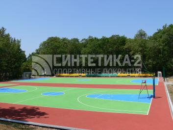 """Объект: """"Орлёнок"""" Туапсинский район, Синтетика-2 © 2007"""