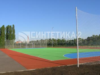 """Объект: """"Универсальная  площадка"""" г. Краснодар, Синтетика-2 © 2012"""