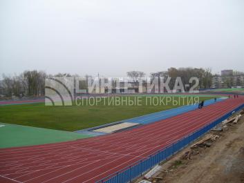 """Объект: """"Труд (IAAF)"""" г. Ростов-на-Дону, Синтетика-2 © 2008"""