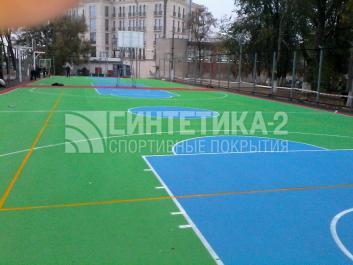 """Объект: """"Спортивная школа"""" г. Азов, Синтетика-2 ©"""