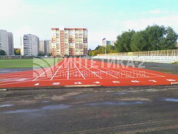 """Объект: """"Спорт.комплекс """"Лидер"""""""" г. Челябинск, Синтетика-2 ©"""