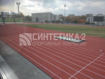 """Объект: """"Стадион """" Калининец"""", г. Екатеринбург."""" г. Екатеринбург., Синтетика-2 © 2018"""